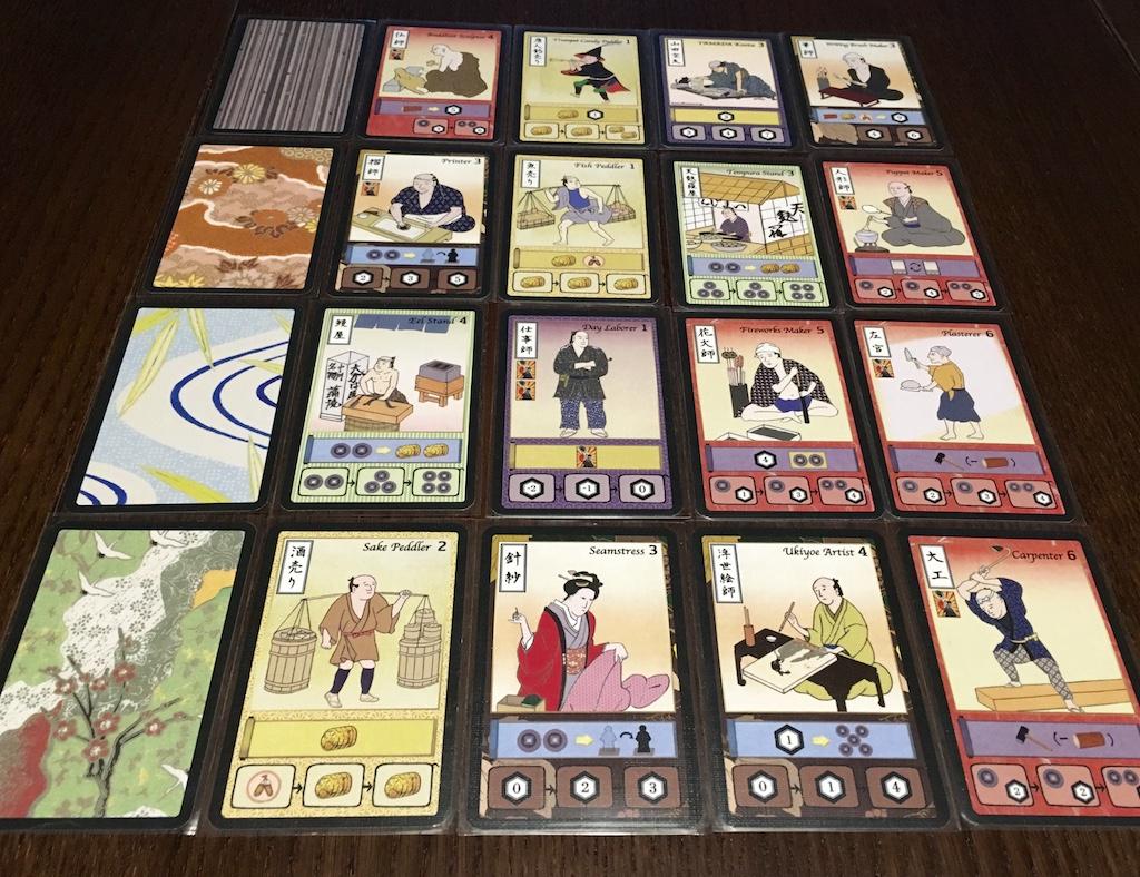 Niektóre karty straganiarzy w poszczególnych porach roku.